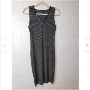 Lucky Brand Striped Sleeveless Maxi Dress